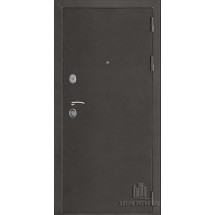 Дверь входная Галеон 2 Темное серебро антик