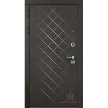 Дверь входная Президент Люкс зеркало Горький шоколад