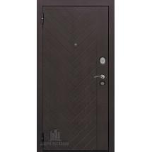 Дверь входная Вектор Лофт Х7 Горький шоколад